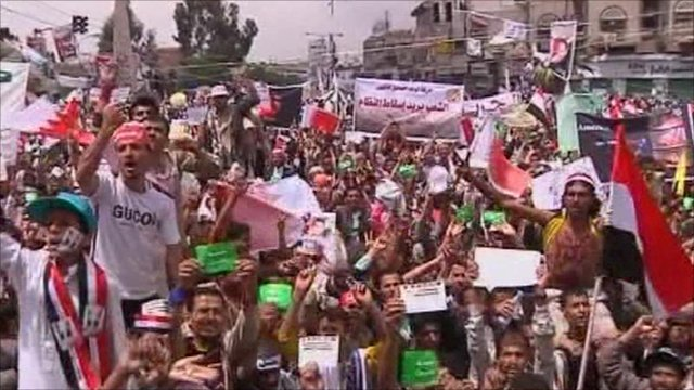 Protests in Yemen