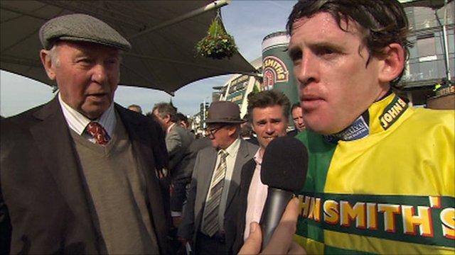 Grand National winner Jason Maguire