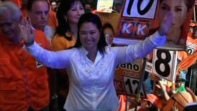 Candidate Keiko Fujimori