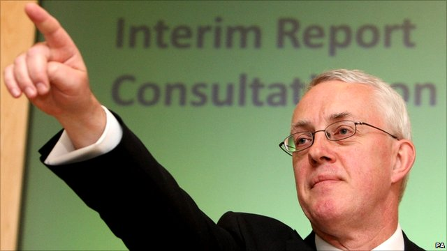 Sir John Vickers, head of the Independent Commission on Banking (ICB)