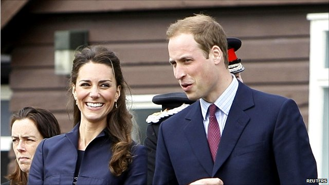 Prince William and Kate Middleton visit Witton Country Park in Darwen