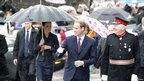 Prince William, Kate Middleton and Lord Lieutenant of Lancashire