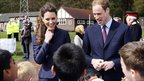 Prince William and Kate Middleton at Blackburn's Witton Country Park