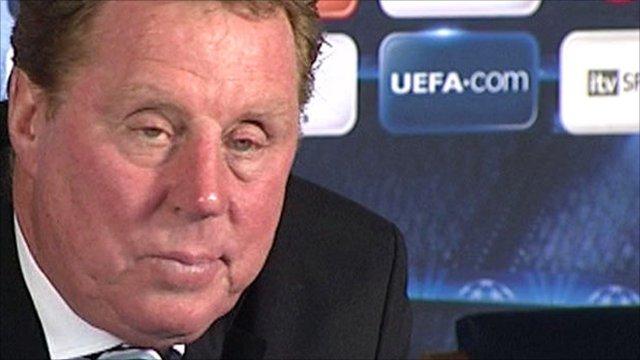 Tottenham manager Harry Redknapp