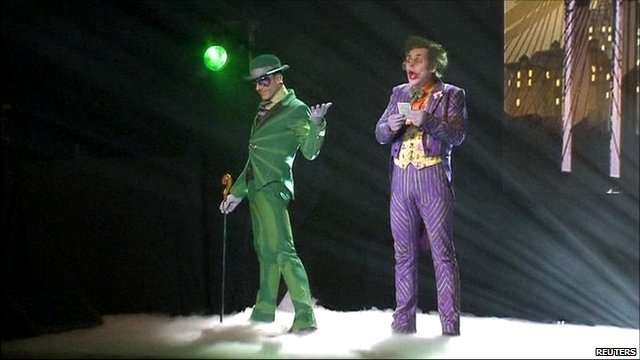 The Riddler and The Joker
