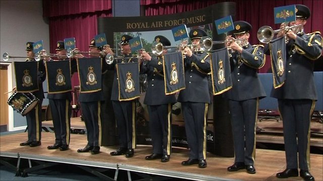 Fanfare Trumpets of the Central Band of the Royal Air Force