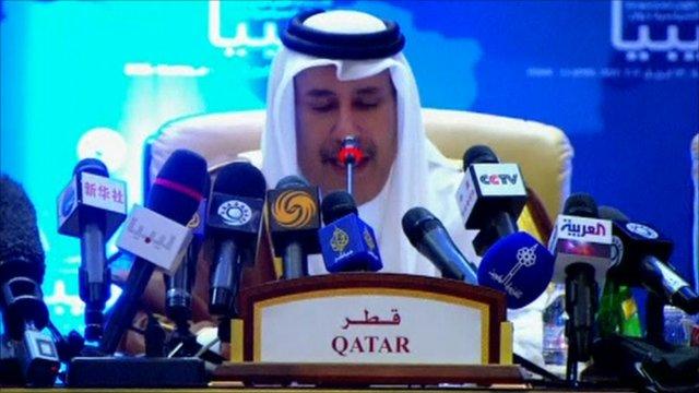 Qatari Prime Minister Sheikh Hamad bin Jassem bin Jabr Al Thani