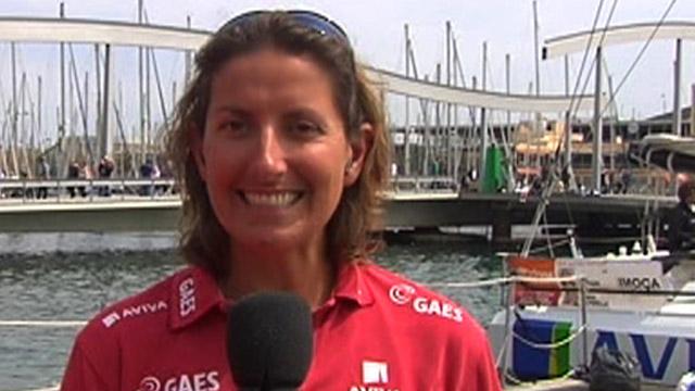 British sailor Dee Caffari