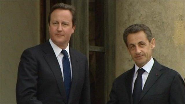 David Cameron and Nicholas Sarkozy