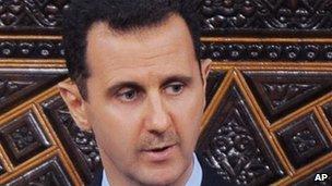 Syrian President Bashar al-Assad - 30 March 2011