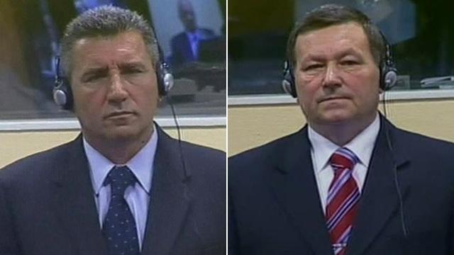 Ante Gotovina and Mladen Markac