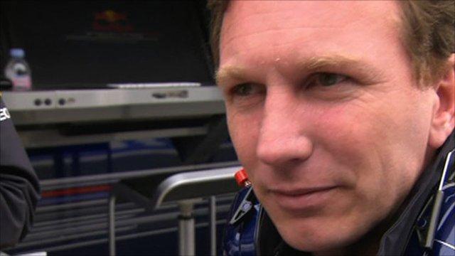 Red Bull's Christian Horner