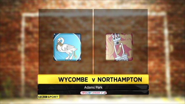 Wycombe v Northampton highlights