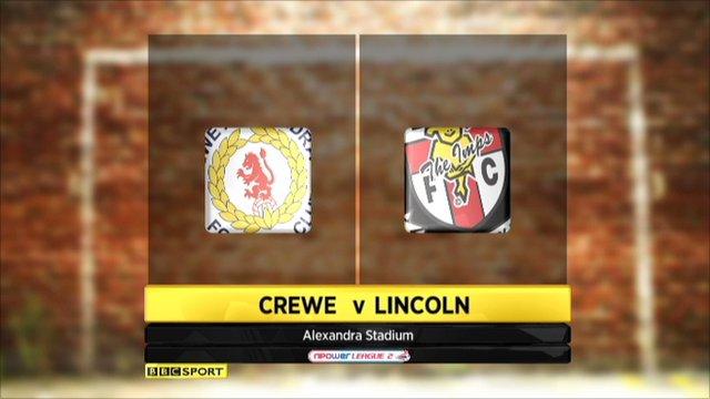 Crewe v Lincoln highlights