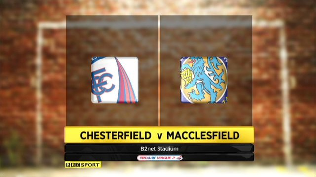 Chesterfield v Macclesfield highlights