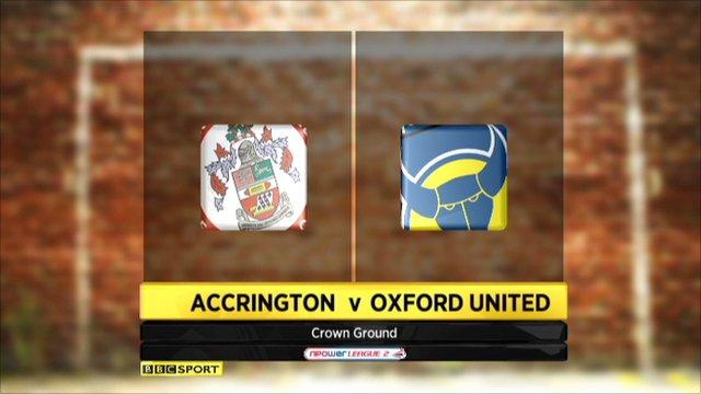 Highlights Accrington v Oxford