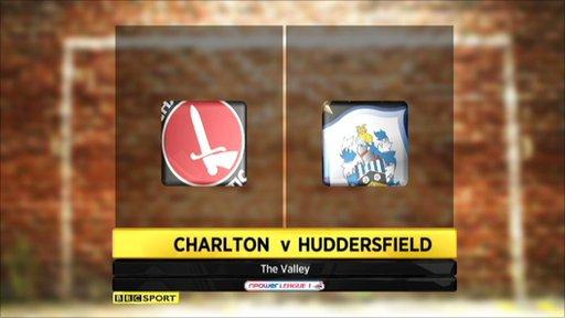 Charlton 0-1 Huddersfield - Highlights