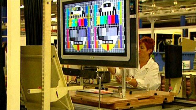 Philips TV factory