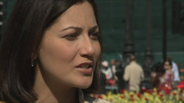 The BBC's Mishal Husain