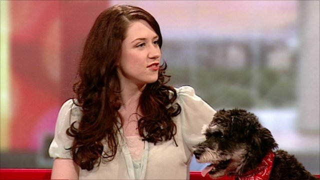 Danielle Hope and dog Dave