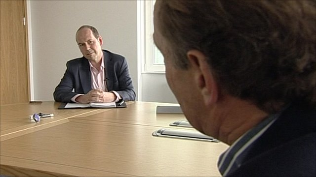 Tim Berners-Lee quizzes BBC journalist Rory Cellan-Jones about BBC strategy.