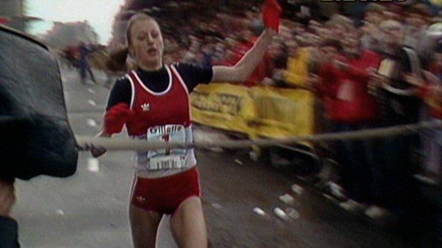 Norwegian runner Grete Waitz