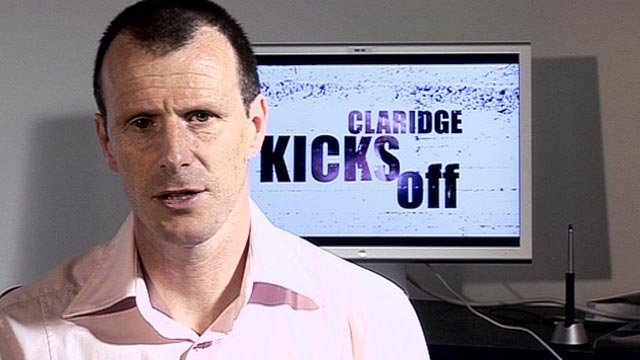 Claridge Kicks Off