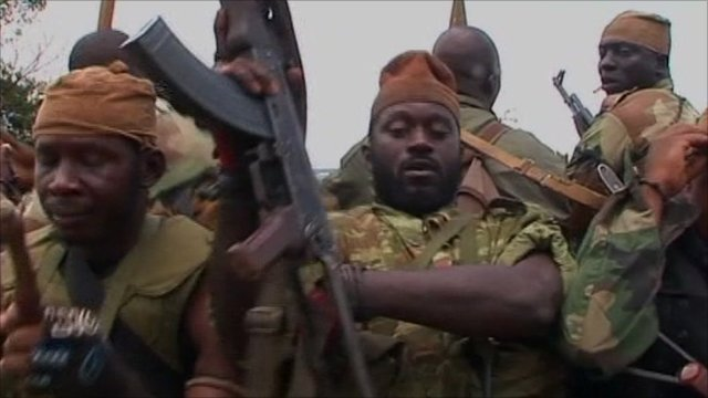New army soldiers in Ivory Coast