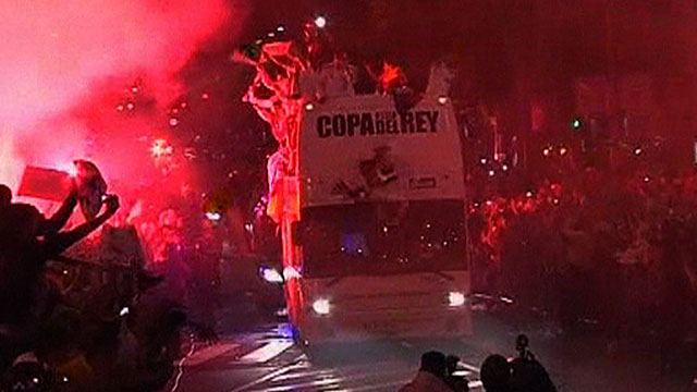 Real Madrid drop the Copa del Rey as they celebrate