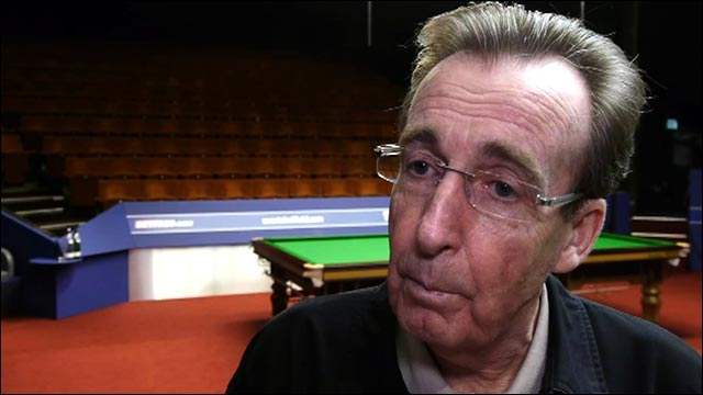 Behind the scenes at the Crucible with Terry Griffiths
