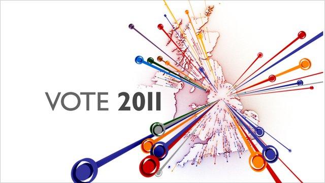 Vote 2011 graphic