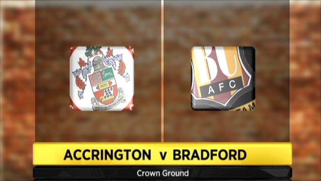 Accrington 3-0 Bradford
