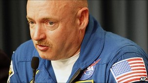Nasa astronaut Mark Kelly said he was excited by the latest news