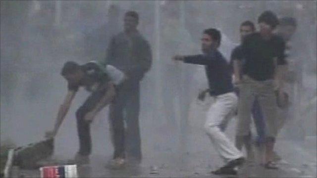 Protesters in Iraq
