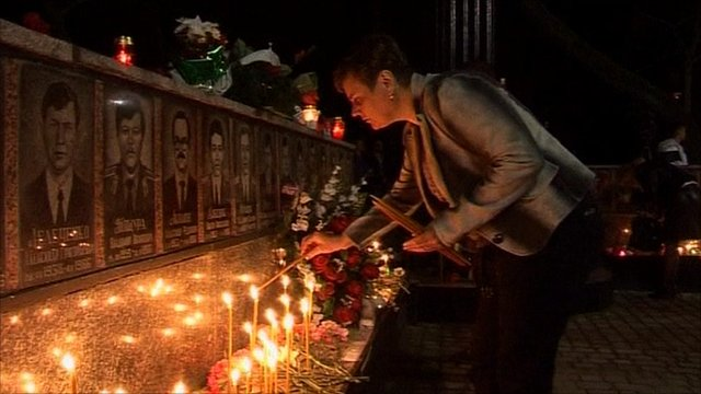 Vigil in Slavutych