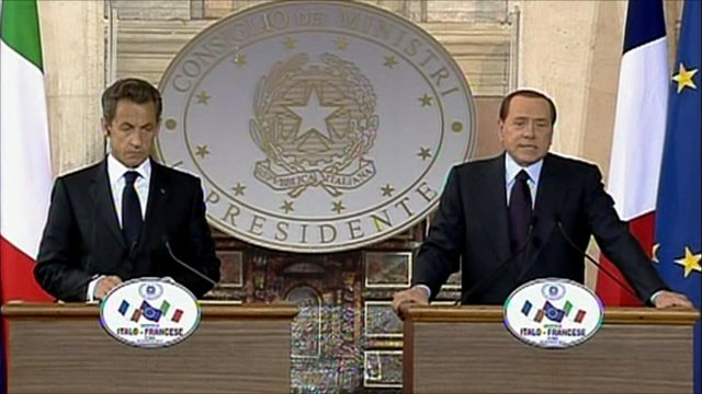Sarkozy and Berlusconi