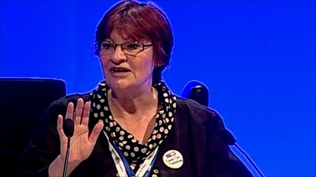 NUT General Secretary Christine Blower