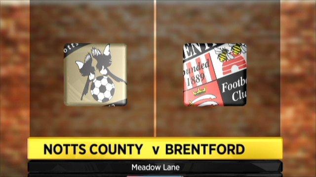 Highlights - Notts County 1-1 Brentford