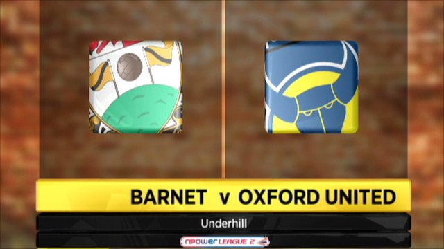 Barnet 2-2 Oxford United