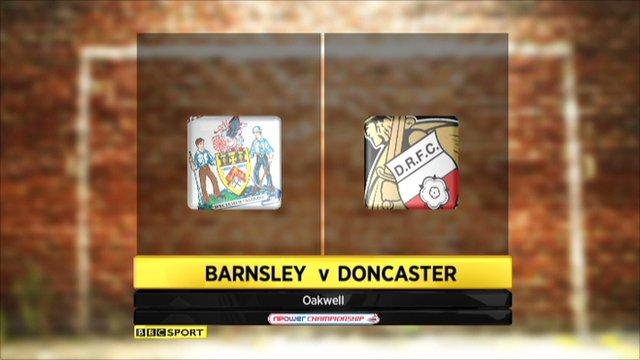 Highlights barnsley v Doncaster