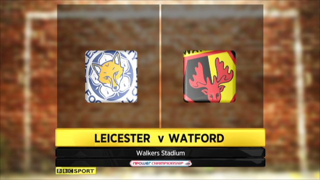 Leicester 4-2 Watford