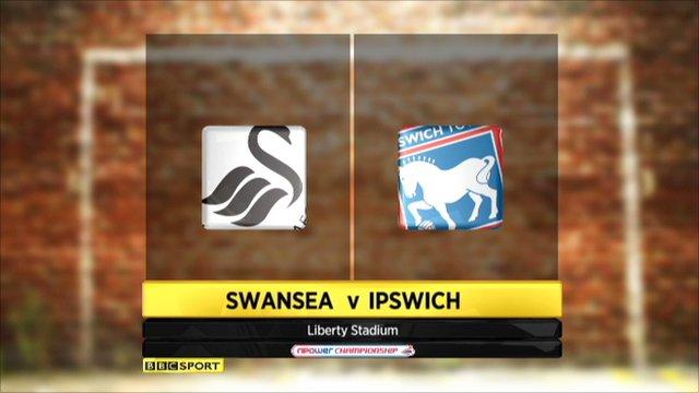 highlights - Swansea v Ipswich
