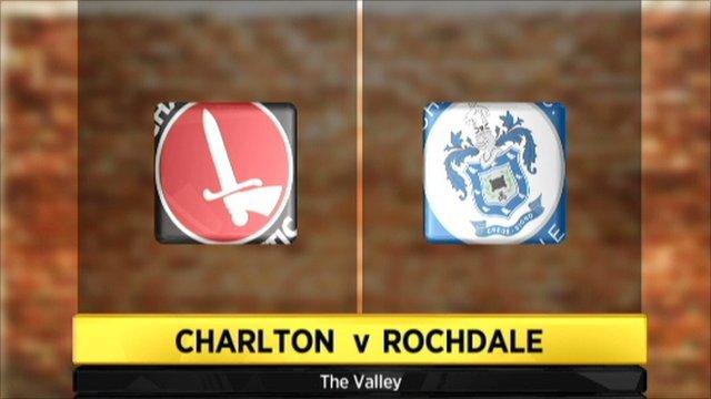 Highlights: Charlton 3-1 Rochdale