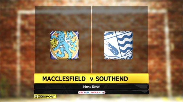 Macclesfield 0-0 Southend