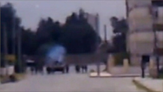 Amateur video from Daraa