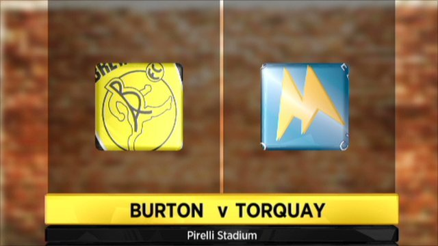 Highlights - Burton 3-3 Torquay