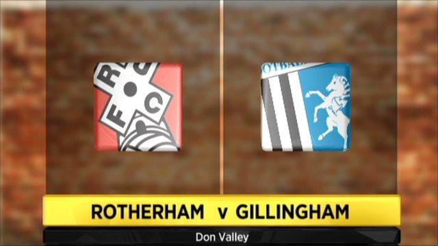 Highlights - Rotherham 0-1 Gillingham
