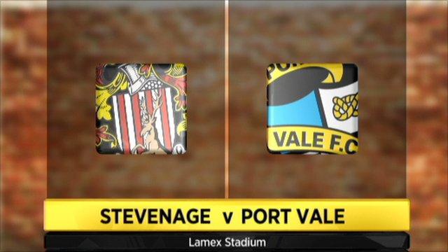 Highlights - Stevenage 1-0 Port Vale