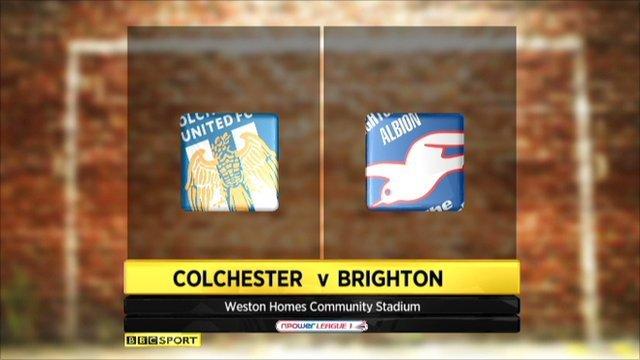 Highlights - Colchester v Brighton