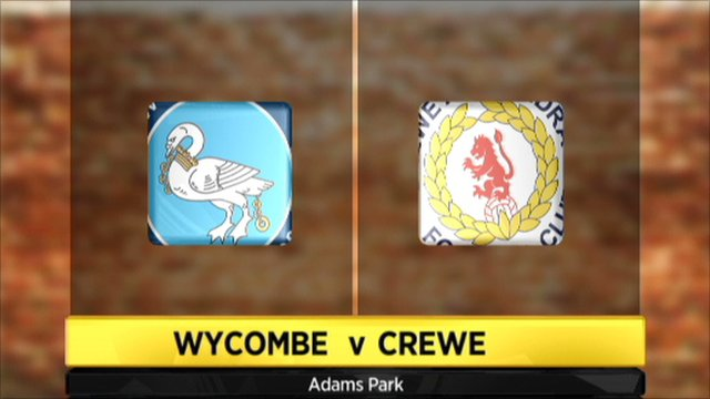 Highlights - Wycombe 2-0 Crewe